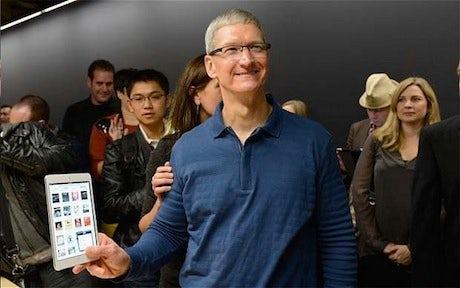 iPad Mini Tim Cook
