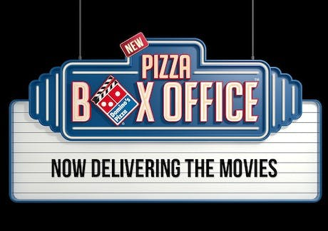 Domino's partners with Lionsgate to deliver movies alongside pizzas.