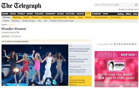 Telegraph Wonder Women