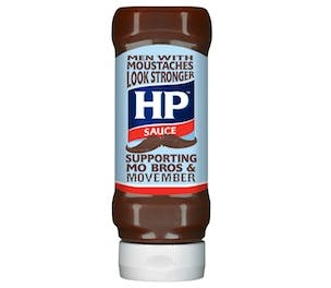 HP's Movember bottle