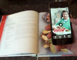 Jamie Oliver AR app