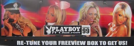 Playboy TV lorry ASA