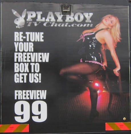 Playboy TV lorry ASA