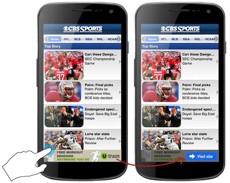 Google mobile display verify