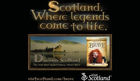 visit scotland brave