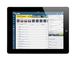 William Hill iPad app.304
