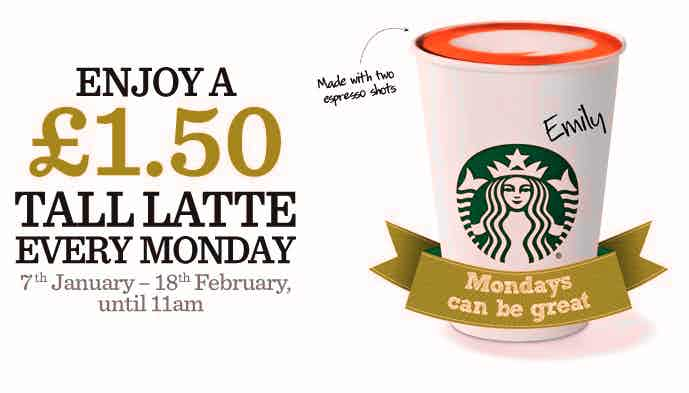 Starbucks - Mondays 304