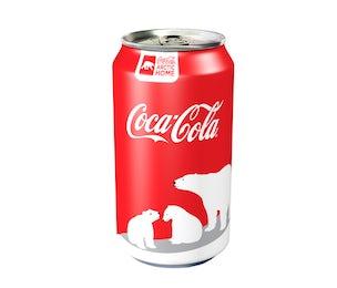 Coca-Cola polar bear can