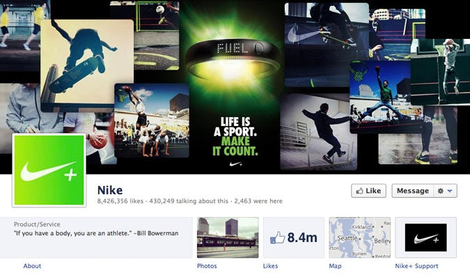Nike Takes Social Media In House Marketing Week
