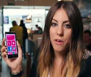 Nokia Lumia ad