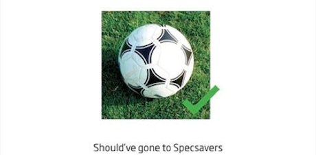 Specsavers rolls out tactical ads.