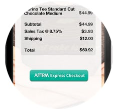 Affirm's 'two-tap' payments service