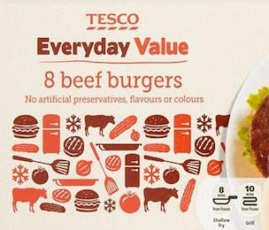 Tesco Everyday Value Burger
