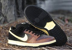 Nike Black and Tan Trainer