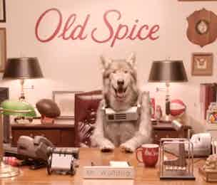 Old Spice Mr Wolfdog P&G