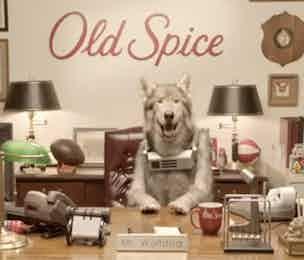 Old Spice Mr Wolfdog P&G