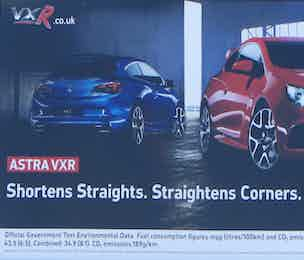 Vauxhall Astra ad banned ASA