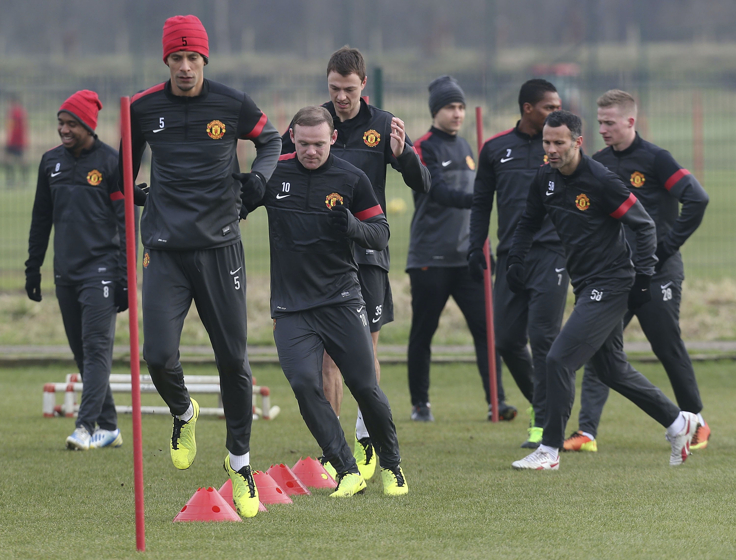 Man Utd Inks 180m Training Ground Deal With Aon Marketing Week