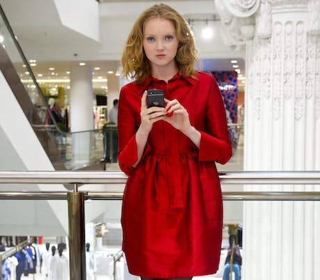 BlackBerry Q10 Lily Cole