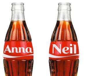 Share A Coke Names List 2020.Coke Puts Consumers Names On Pack Marketing Week