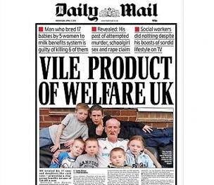 Daily Mail Philpott headline