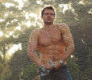 Diet Coke Mosaic