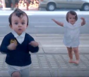 Evian Babies 2013