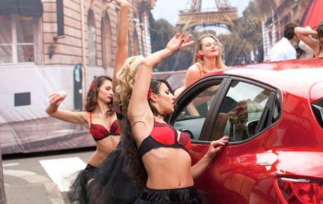 Renault Clio ad