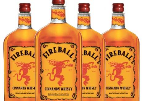 Fireball Whisky