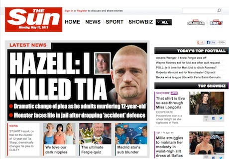 The Sun Homepage