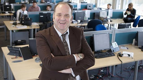 The Call Centre CEO Nev Wilshire