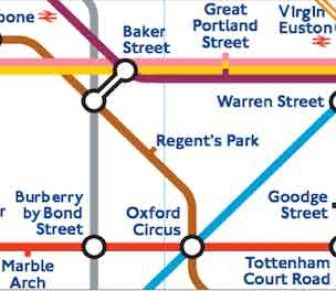 London Underground Tube Map Mock-up