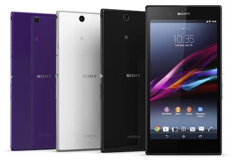 Sony Xperia Ultra range