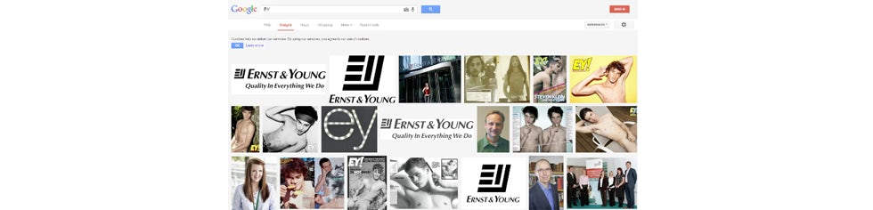"""Google Image Search for """"EY"""""""