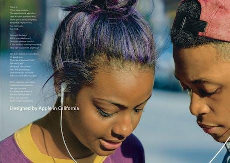 Apple brand campaign 2013