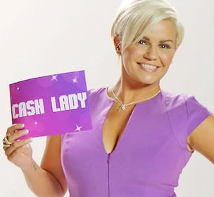 Cash Lady Kerry Katona