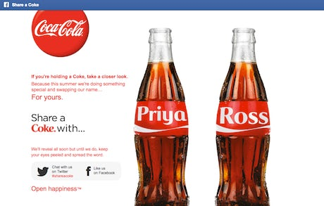 Coke extends names on bottles to everyone – Marketing Week