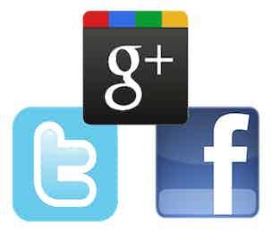 Google Plus Facebook Twitter