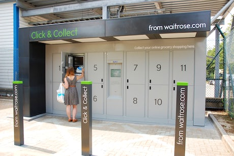 Waitrose Click and Collect lockers