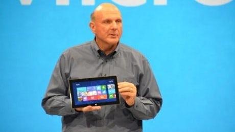 Microsoft Surface Steve Ballmer