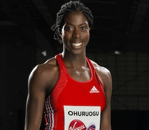 Christine Ohuruogu Virgin Media