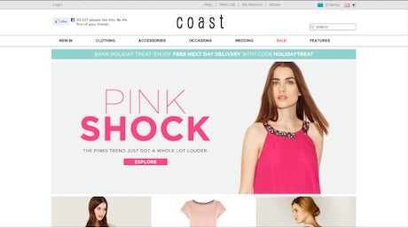 Coast website