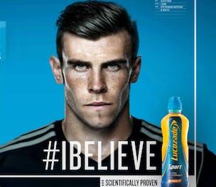 Lucozade Sport Gareth Bale