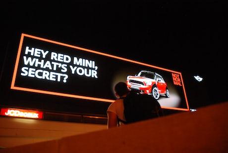 Mini Cromwell Road campaign