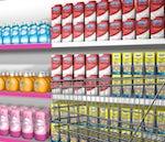 Reckitt products on shelf