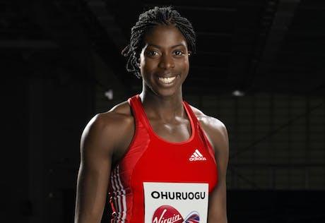 Christine Ohuruogu Virgin Media