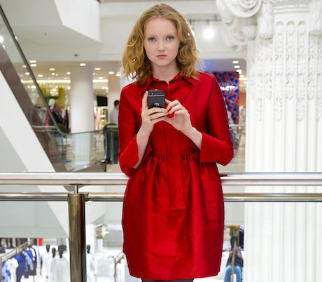 BlackBerry Q10 Lily Cole