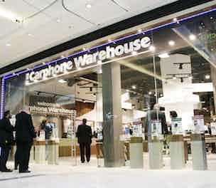Carphone Warehouse store