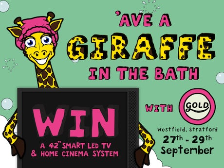 UKTV Ave a Giraffe