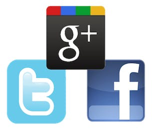 Google Plus Facebook Twitter
